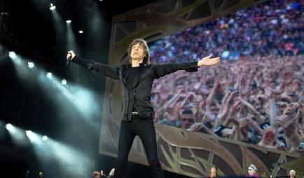 "Die Rolling Stones ""in action""!"