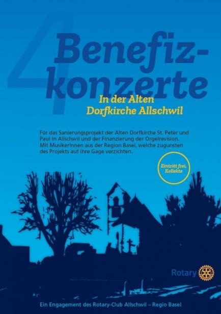 Benefizkonzerte in der Alten Dorfkirche Allschwil